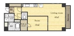 #303 flat plan