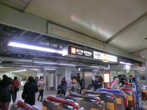 地下鉄梅田①