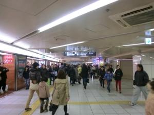 地下鉄梅田②