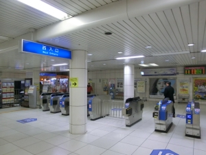 JR北新地駅①