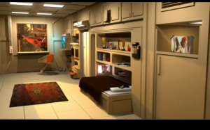 Fifth element apartment rendering